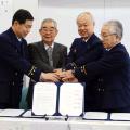 2011年11月18日、地域の防火安全の協定が結ばれました。